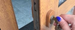 East Finchley locks change